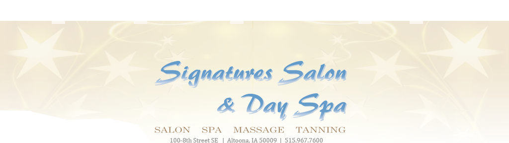 Signatures Salon and Day Spa | Altoona, IA