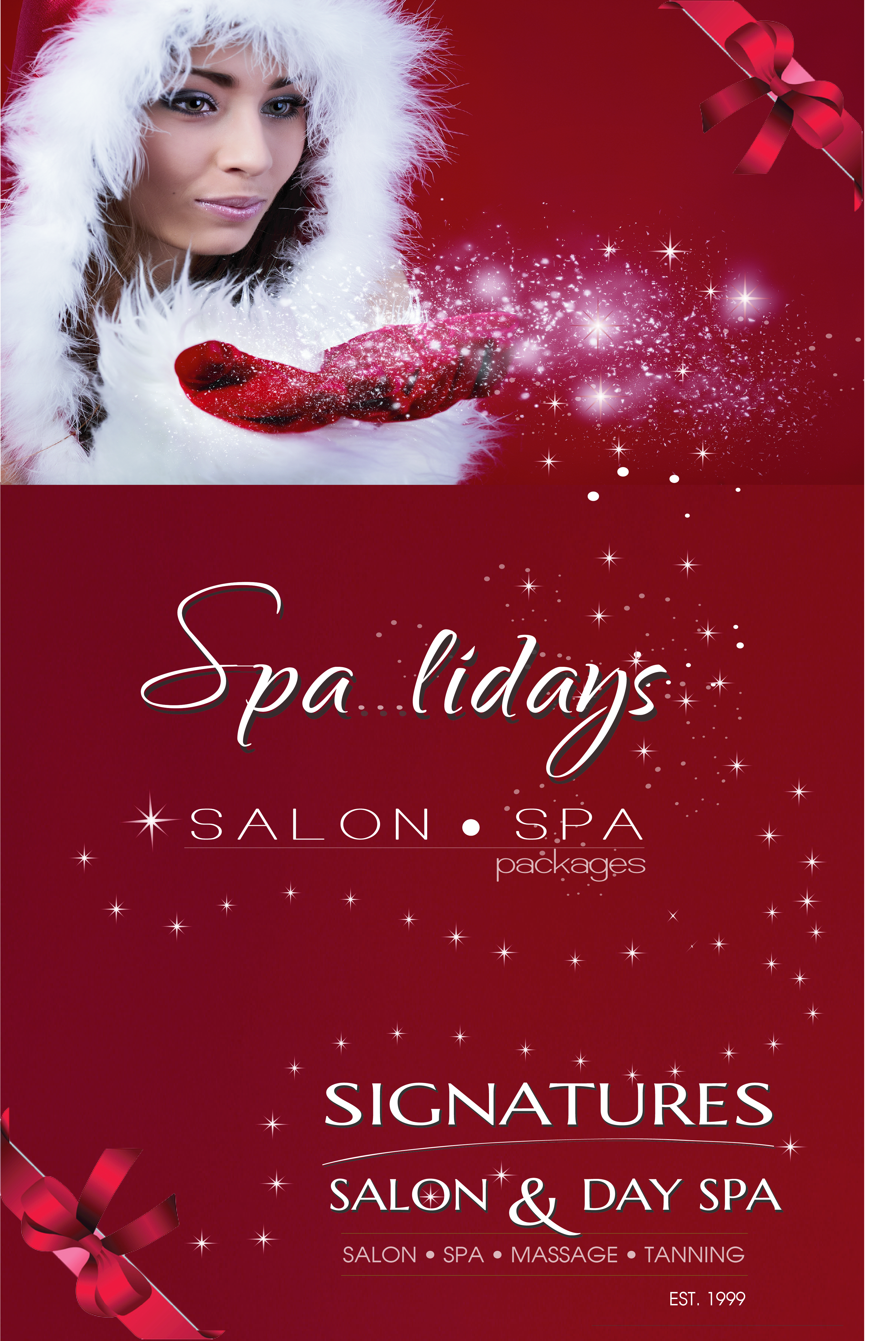 Christmas Spa Packages | Signatures Salon and Day Spa | Altoona, IA