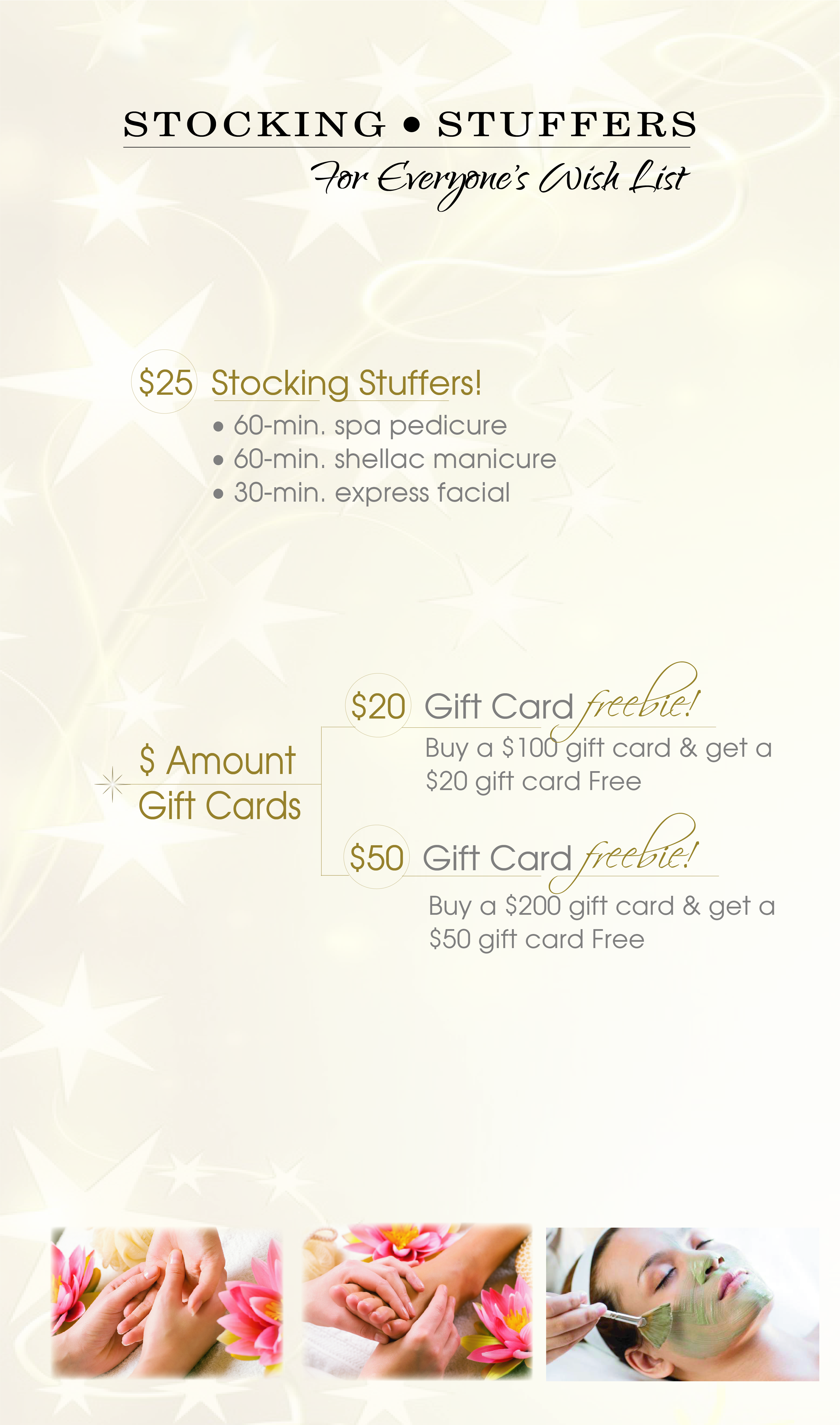Christmas Spa Packages | Signatures Salon and Day Spa ...