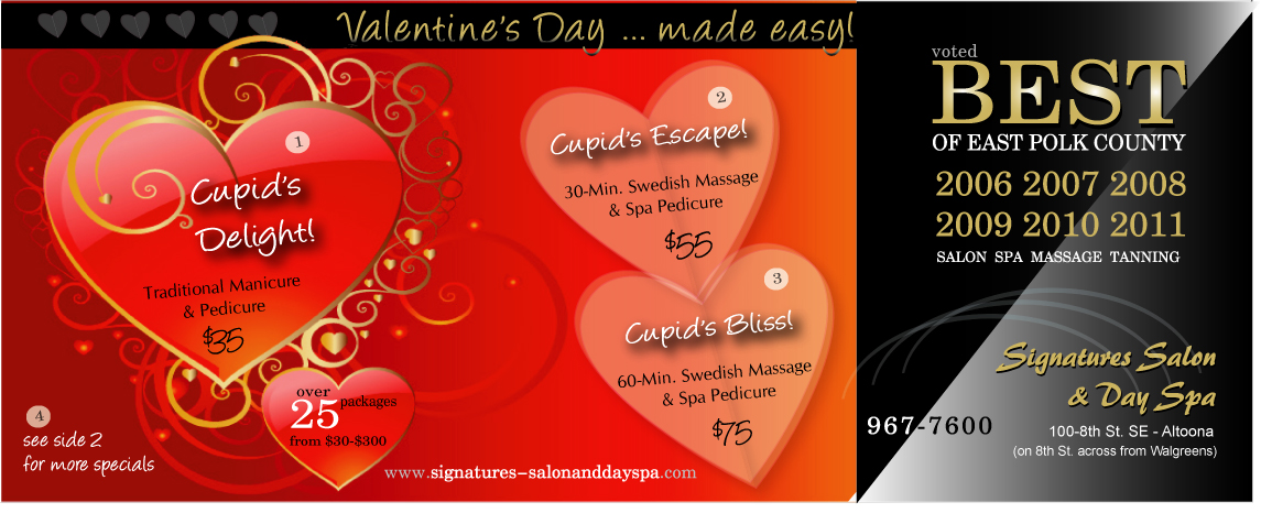valentine's day spa specials | signatures salon and day spa, Ideas