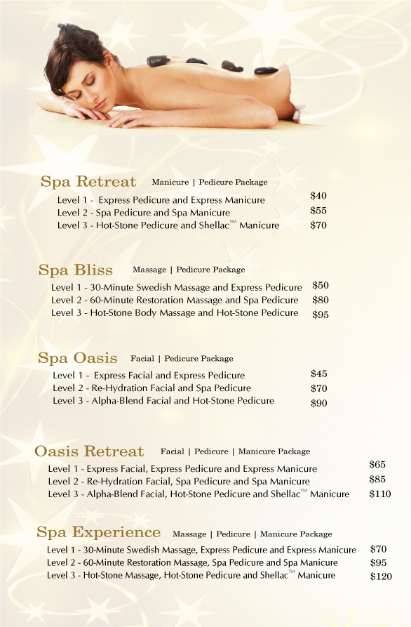 Valentines day spa specials for 3 day spa